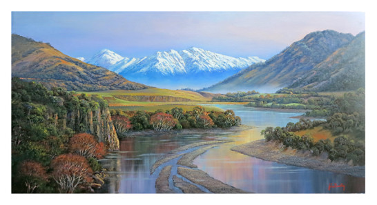 Autumn on the Waiau River
