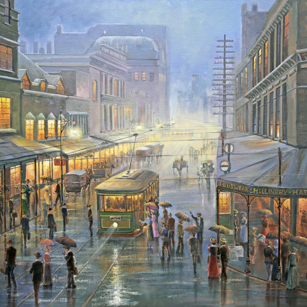 Evening Showers – Sydney